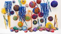 Sheila Hicks, The Embassy of Chromatic Delegates, 2015-2016 - Sydney Biennale