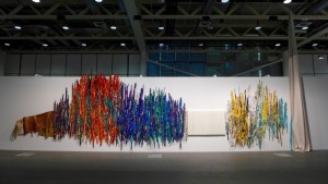 Sheila Hicks, The Treaty of Chromatic Zones, 2015 - Art Basel