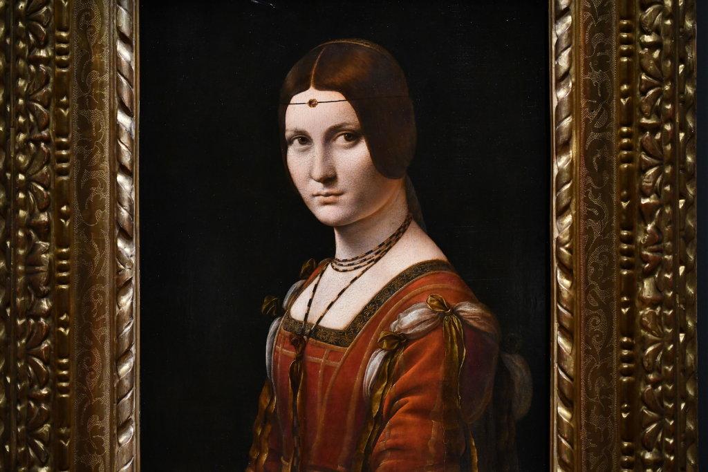 Vue exposition Léonard de Vinci - Louvre - Paris