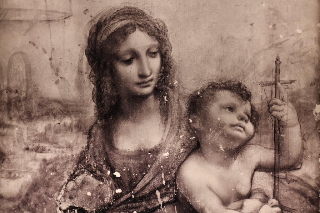 Vue exposition Léonard de Vinci - Louvre - Paris (12)