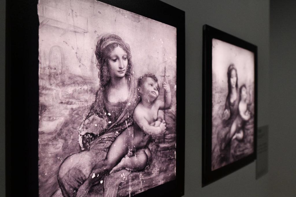 Vue exposition Léonard de Vinci - Louvre - Paris (13)