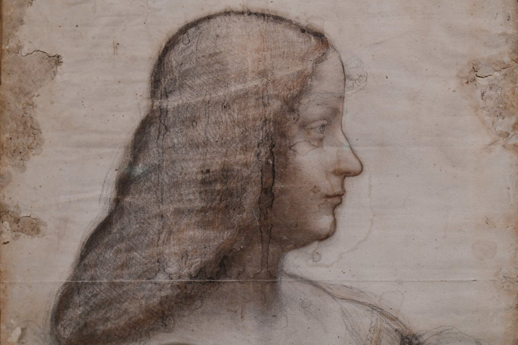 Vue exposition Léonard de Vinci - Louvre - Paris (14)