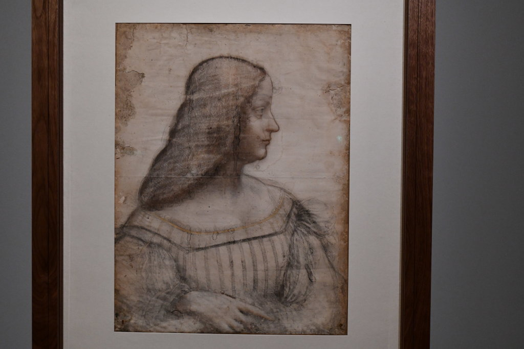 Vue exposition Léonard de Vinci - Louvre - Paris (15)