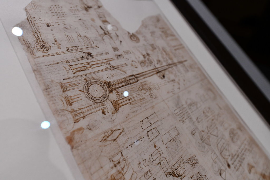 Vue exposition Léonard de Vinci - Louvre - Paris (20)
