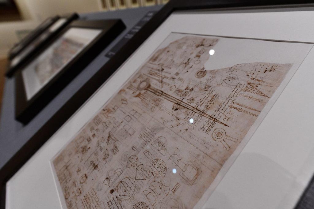 Vue exposition Léonard de Vinci - Louvre - Paris (21)