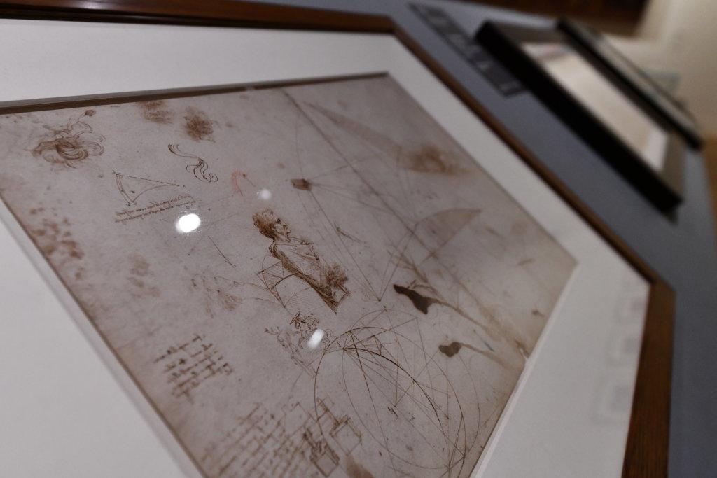 Vue exposition Léonard de Vinci - Louvre - Paris (22)