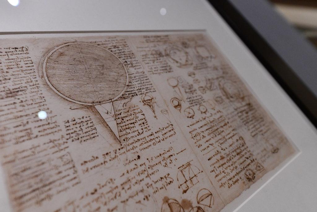 Vue exposition Léonard de Vinci - Louvre - Paris (23)