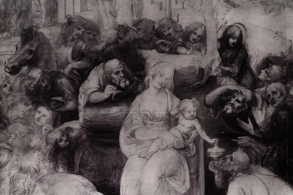 Vue exposition Léonard de Vinci - Louvre - Paris (24)