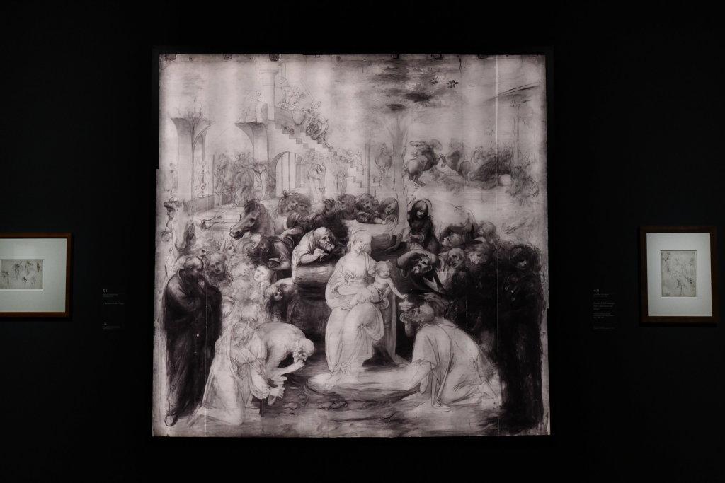 Vue exposition Léonard de Vinci - Louvre - Paris (25)