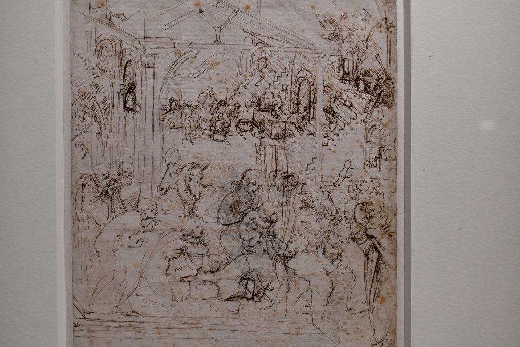 Vue exposition Léonard de Vinci - Louvre - Paris (26)