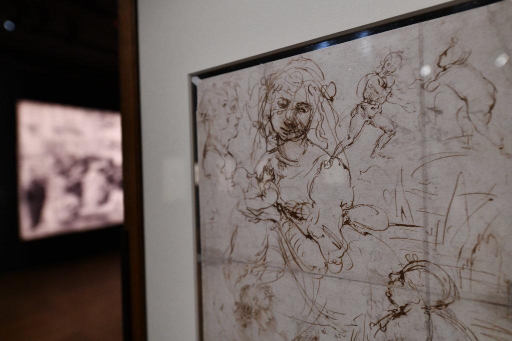 Vue exposition Léonard de Vinci - Louvre - Paris (27)