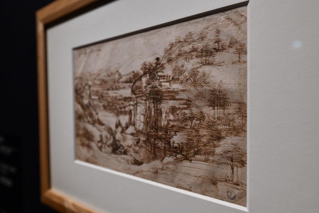 Vue exposition Léonard de Vinci - Louvre - Paris (29)