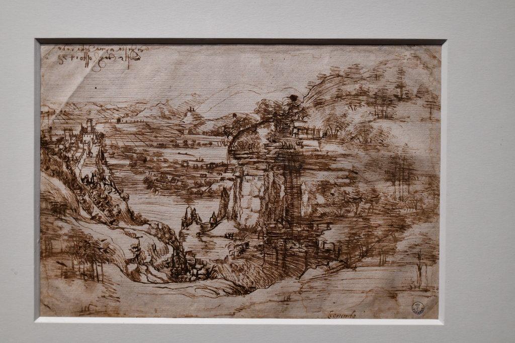 Vue exposition Léonard de Vinci - Louvre - Paris (30)
