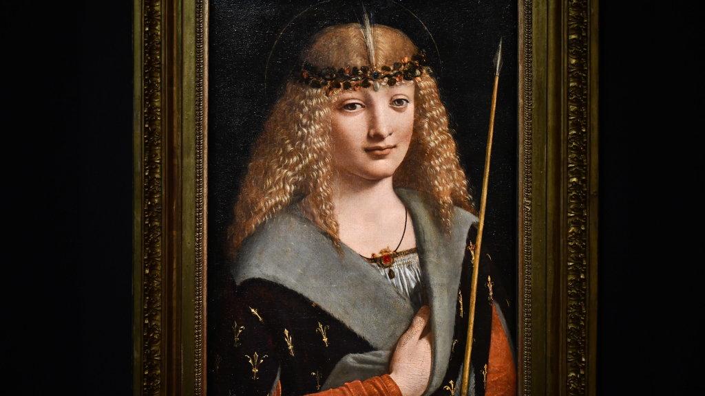 Vue exposition Léonard de Vinci - Louvre - Paris (37)