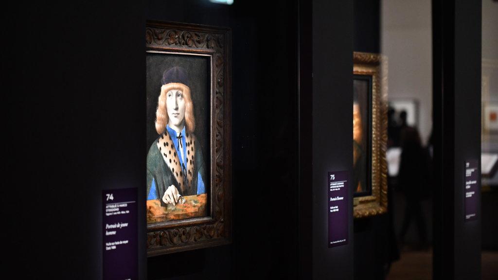 Vue exposition Léonard de Vinci - Louvre - Paris (39)