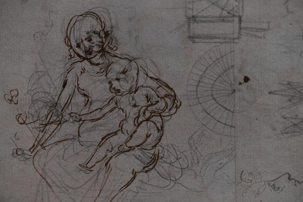 Vue exposition Léonard de Vinci - Louvre - Paris (43)