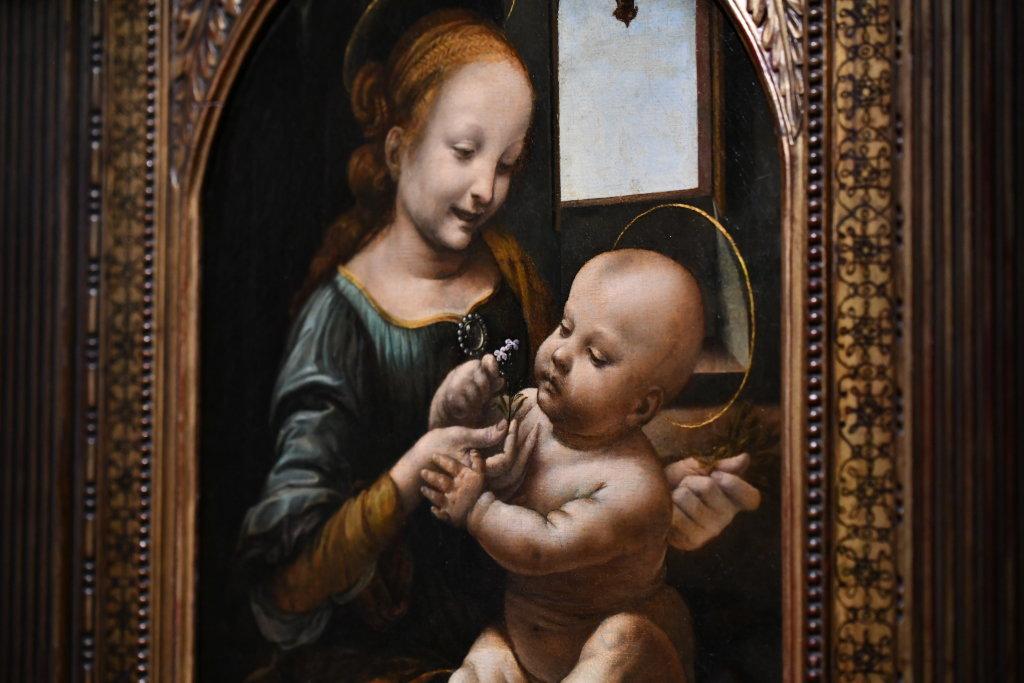 Vue exposition Léonard de Vinci - Louvre - Paris (44)