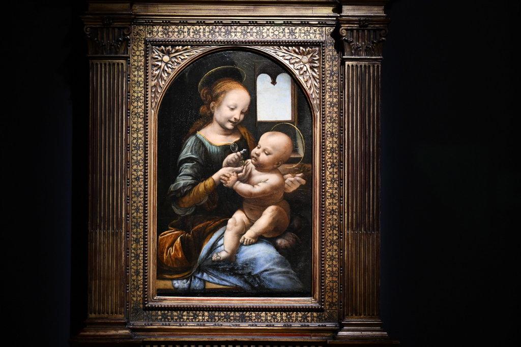 Vue exposition Léonard de Vinci - Louvre - Paris (45)