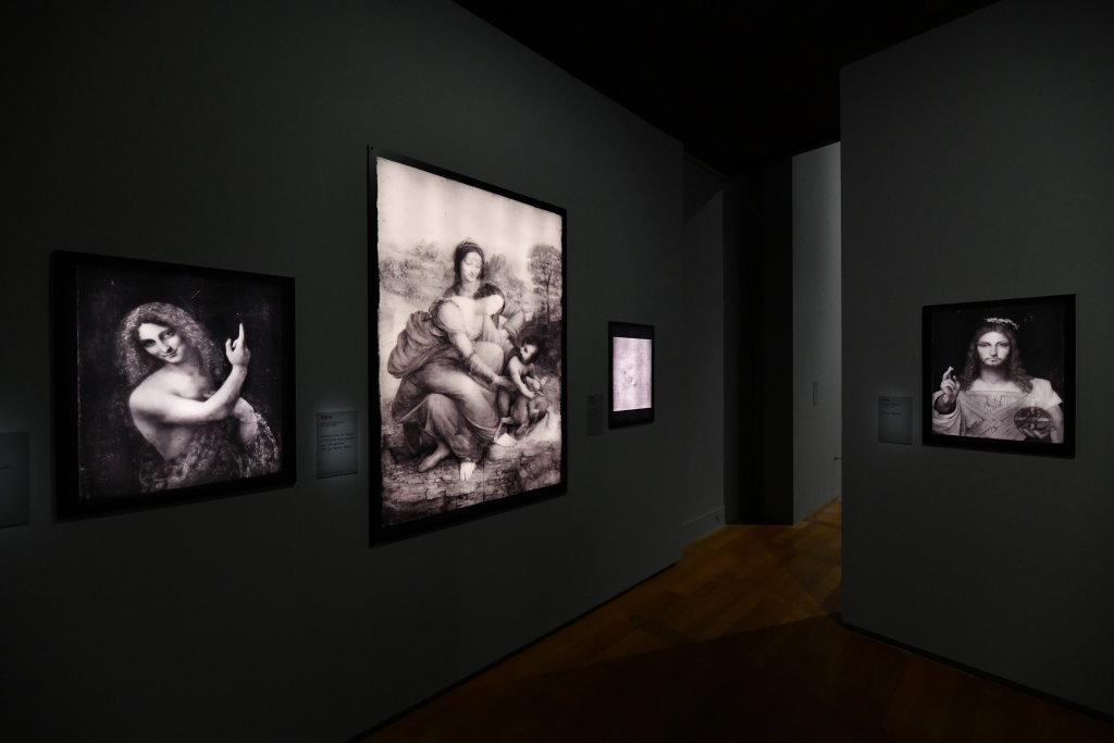Vue exposition Léonard de Vinci - Louvre - Paris (48)