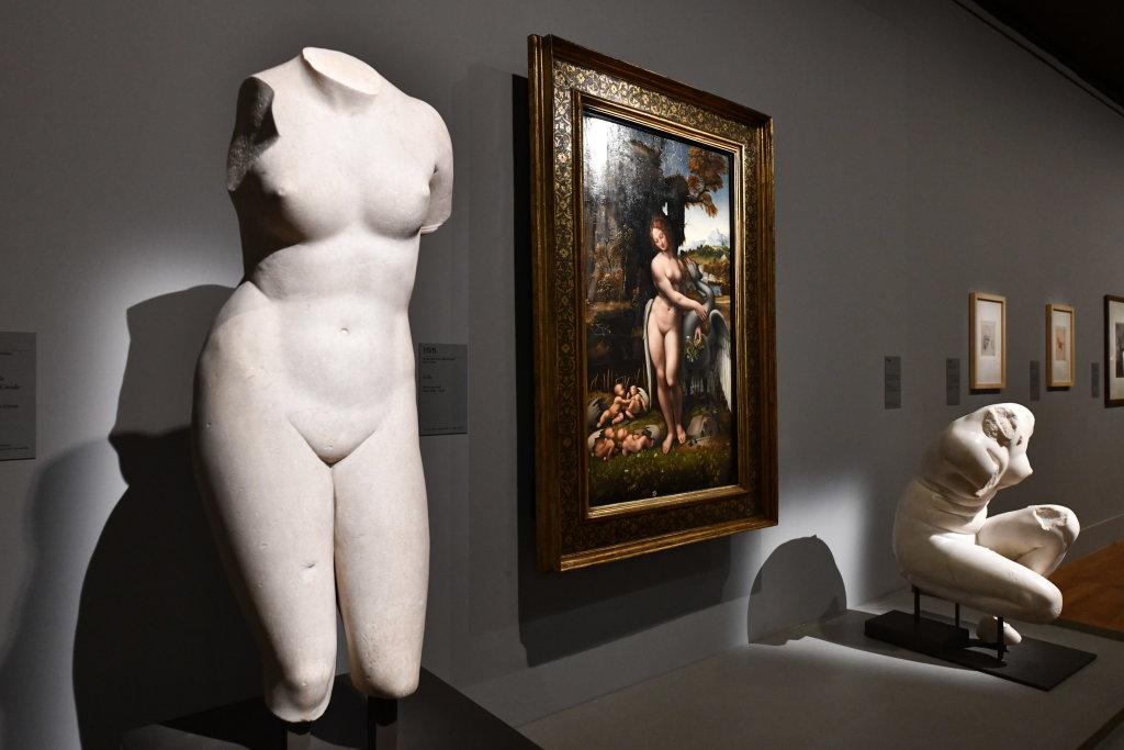 Vue exposition Léonard de Vinci - Louvre - Paris (49)