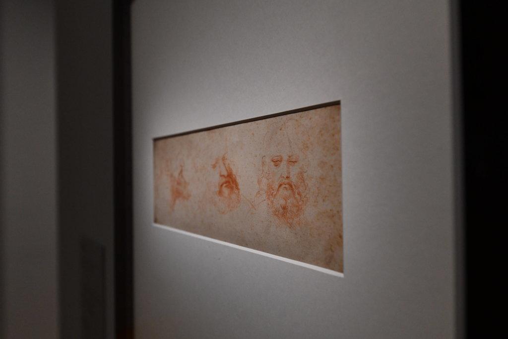 Vue exposition Léonard de Vinci - Louvre - Paris (5)