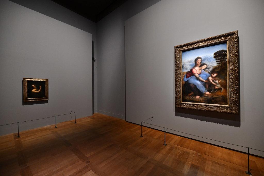 Vue exposition Léonard de Vinci - Louvre - Paris (50)