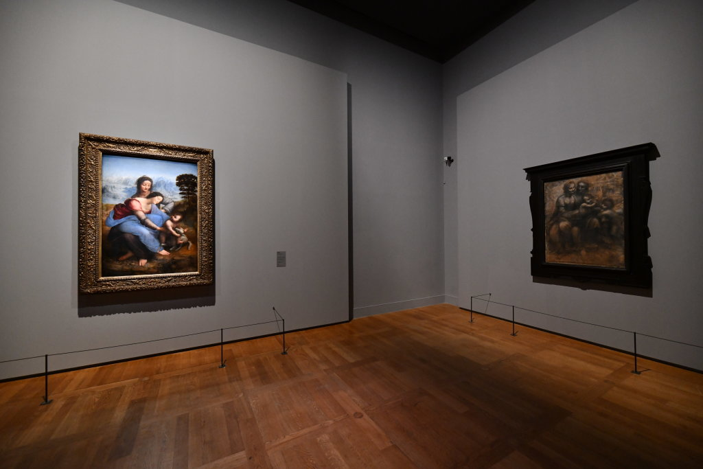 Vue exposition Léonard de Vinci - Louvre - Paris (51)