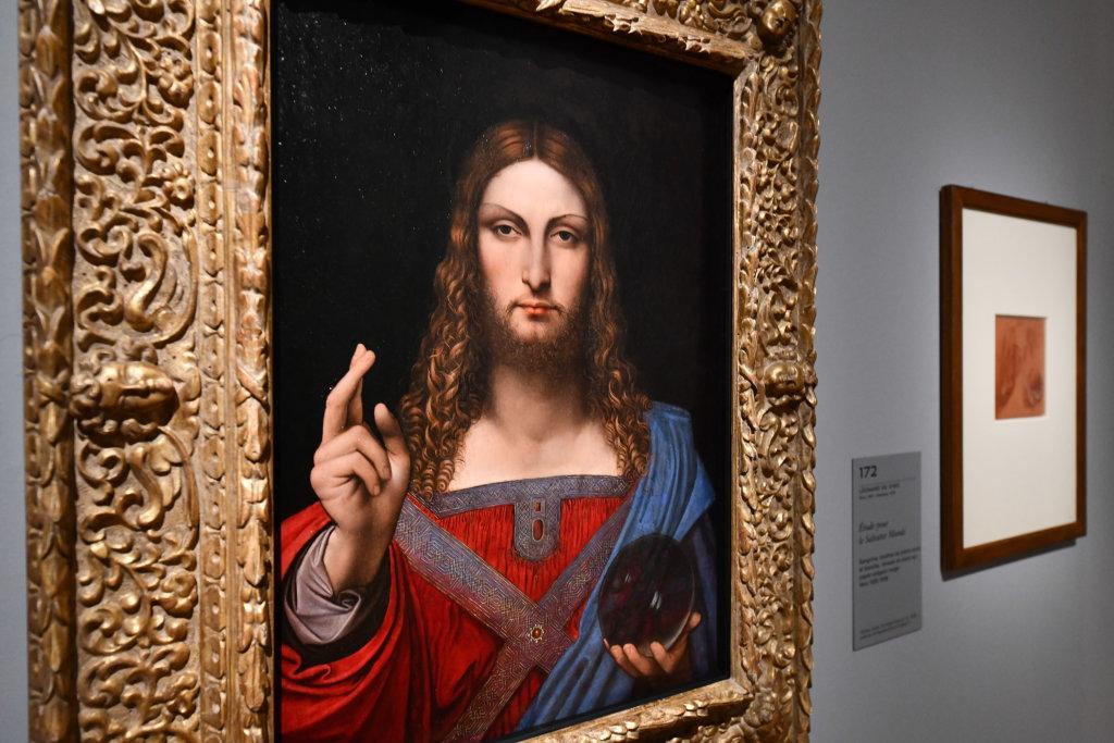 Vue exposition Léonard de Vinci - Louvre - Paris (52)