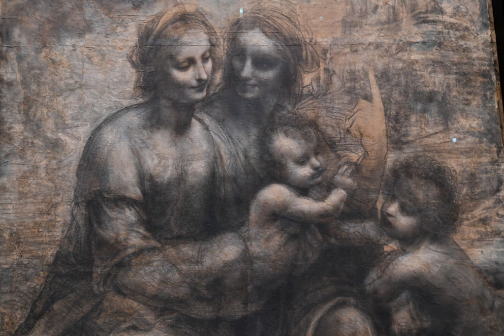 Vue exposition Léonard de Vinci - Louvre - Paris (53)