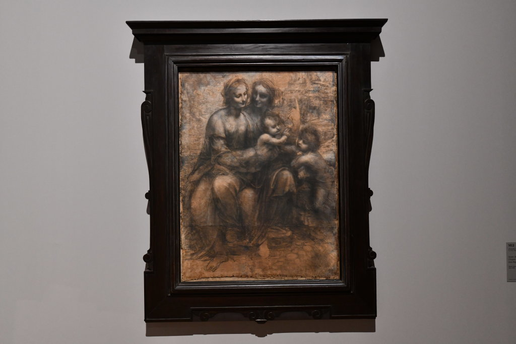 Vue exposition Léonard de Vinci - Louvre - Paris (54)