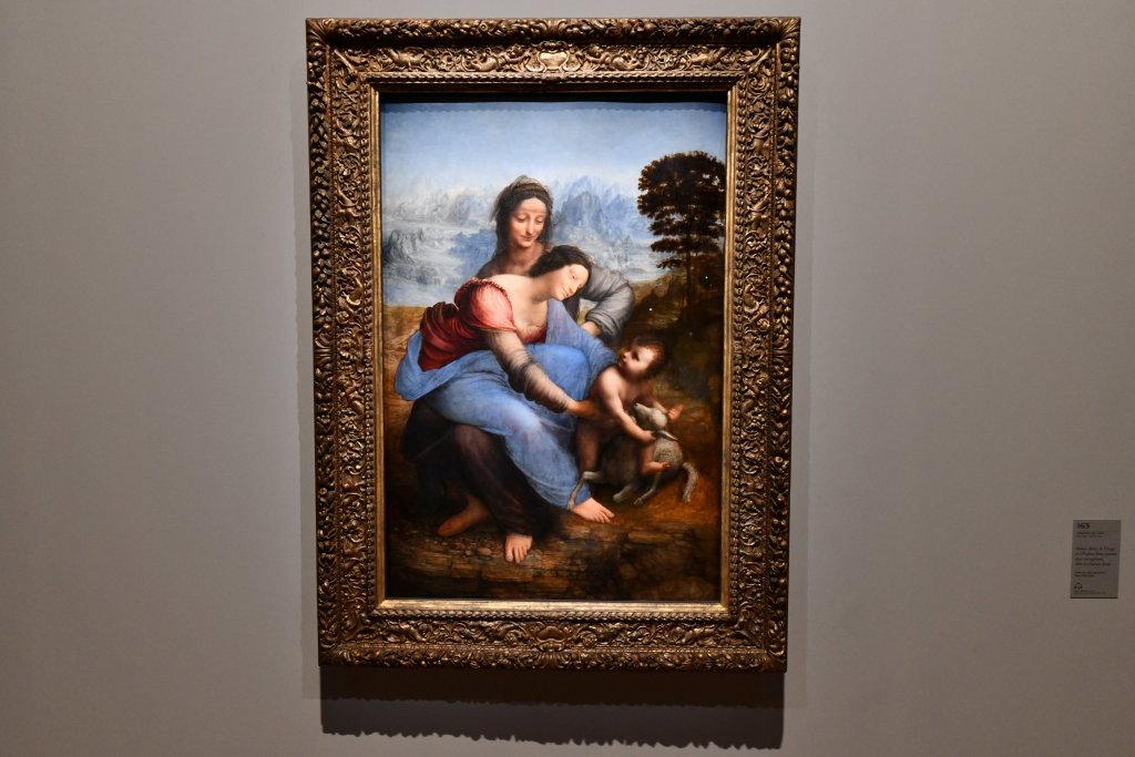 Vue exposition Léonard de Vinci - Louvre - Paris (55)