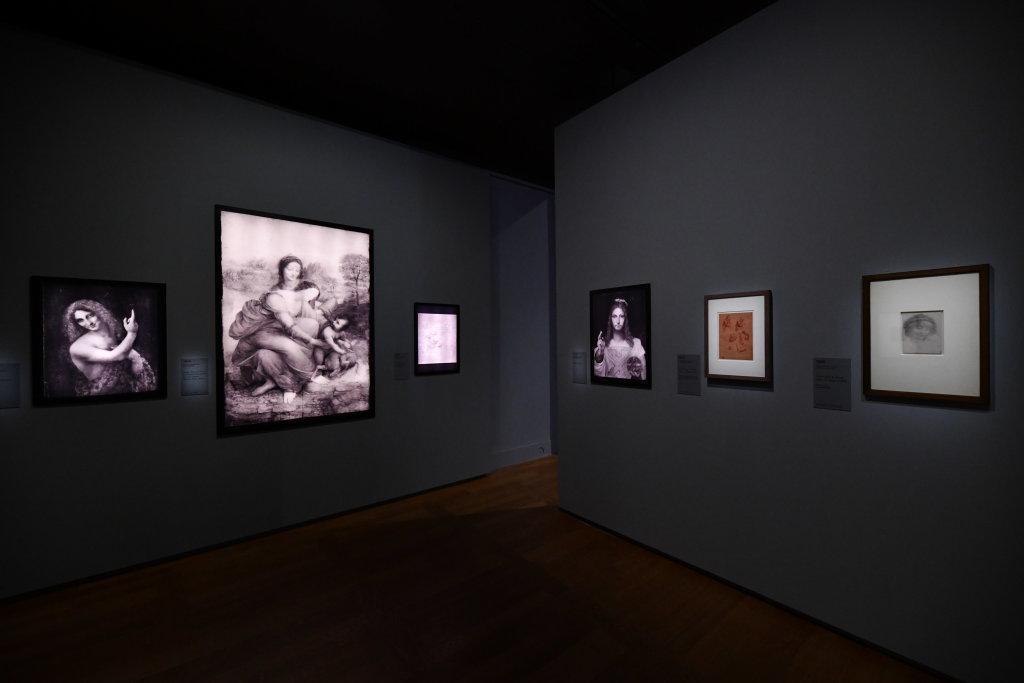 Vue exposition Léonard de Vinci - Louvre - Paris (57)