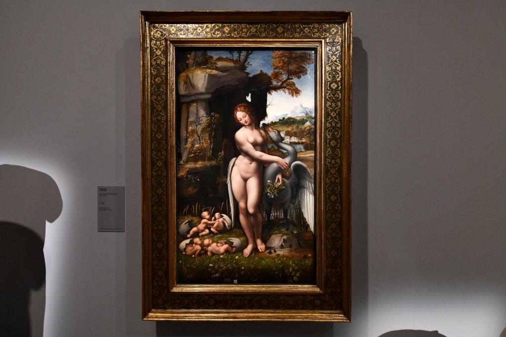 Vue exposition Léonard de Vinci - Louvre - Paris (61)