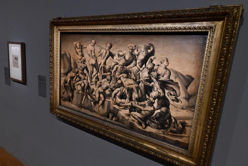 Vue exposition Léonard de Vinci - Louvre - Paris (63)