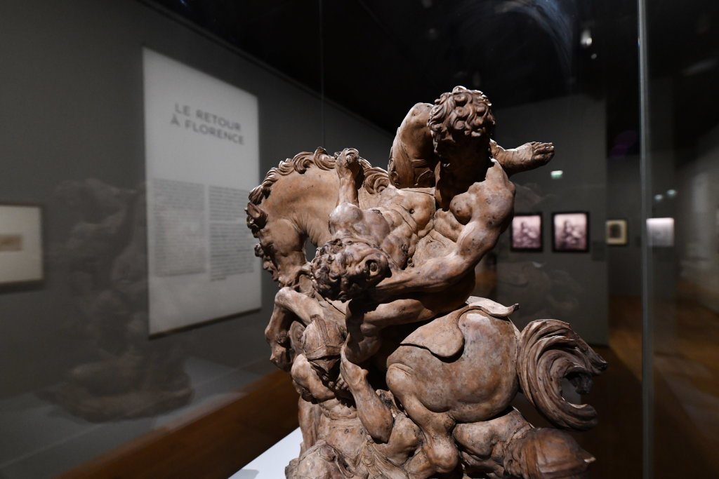 Vue exposition Léonard de Vinci - Louvre - Paris (64)
