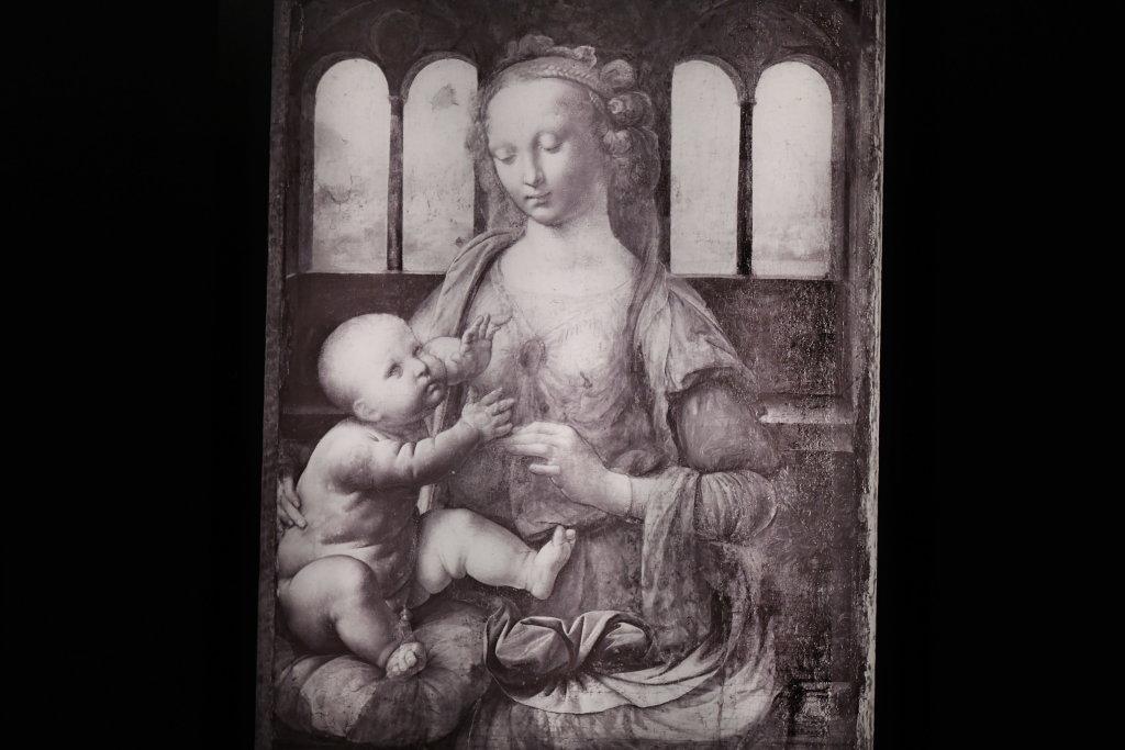 Vue exposition Léonard de Vinci - Louvre - Paris (66)