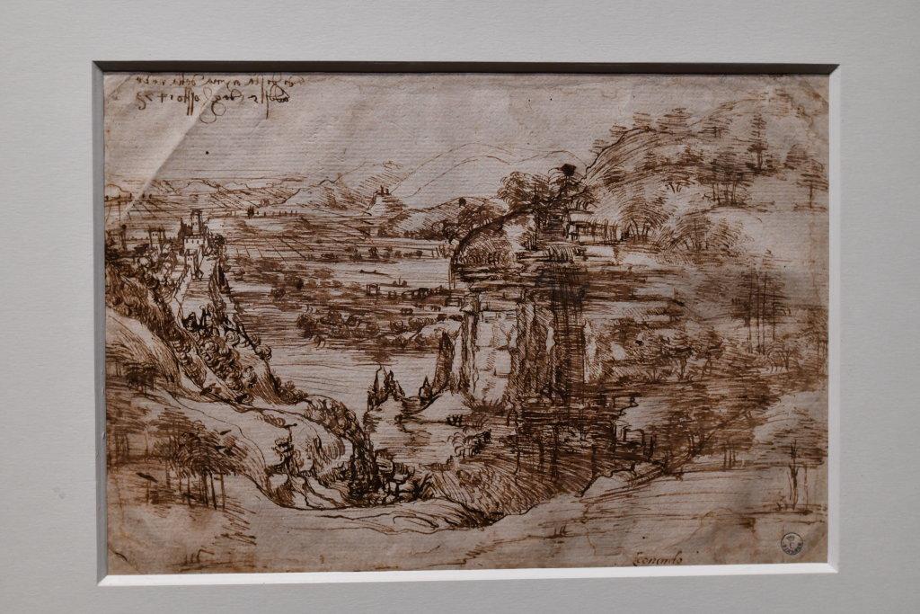 Vue exposition Léonard de Vinci - Louvre - Paris (68)