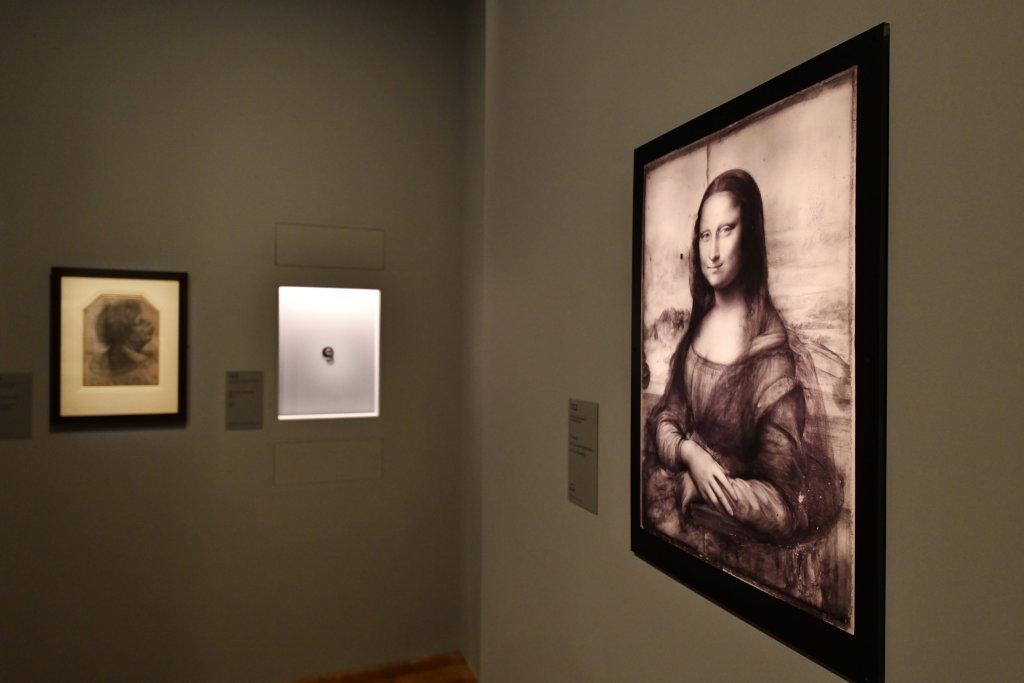 Vue exposition Léonard de Vinci - Louvre - Paris (9)
